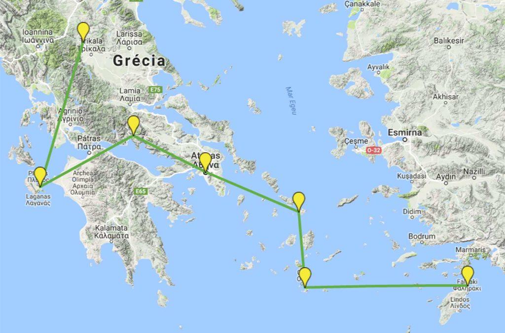 Dicas da Grécia - Não vá para ficar pouco tempo