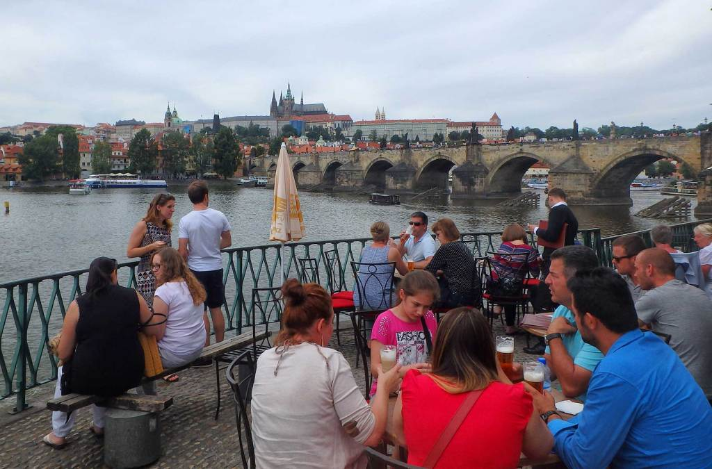 Dicas de Praga - Cobra-se tudo nas mesas