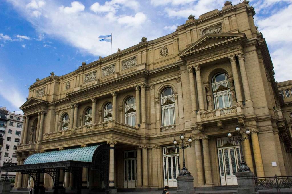 Roteiro em Buenos Aires - Teatro Colón