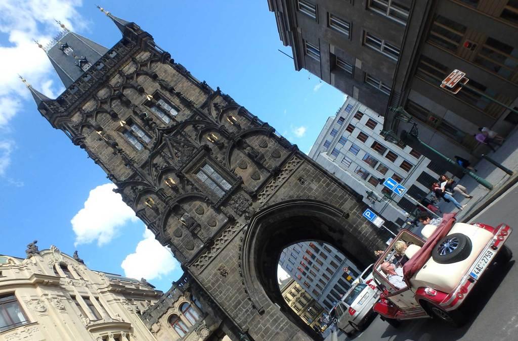 Roteiro em Praga - Torre da Pólvora