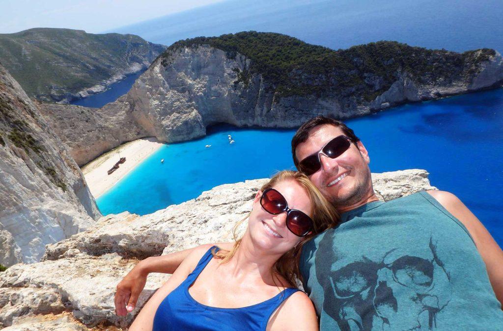 Lugares mais incríveis do mundo - Praia de Navagio (Grécia)