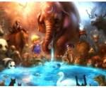 Flora - Fauna - Animais Fantásticos - Fantasia