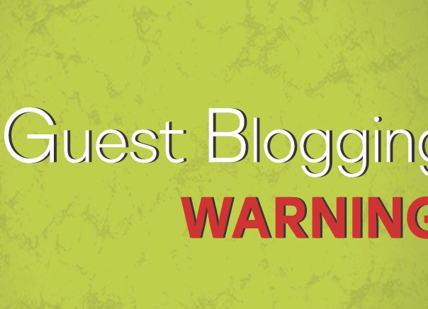 Guest Blogging Warning from Google for backlinks