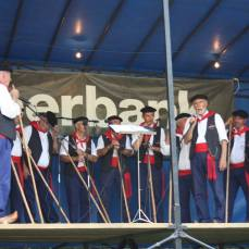 Actuación del Coro de La Fuentona