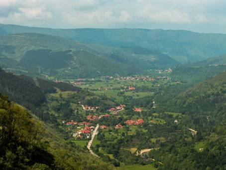 Panorámica del Valle de Cabuérniga