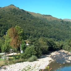 Río Saja en Fresneda