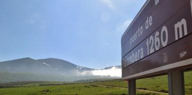 Pico Liguardi y Cuenca de Proaño desde el Alto del Puerto de Palombera