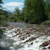 Río Saja en Sopeña