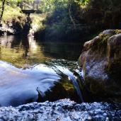 Poza Negra. Río Lodar