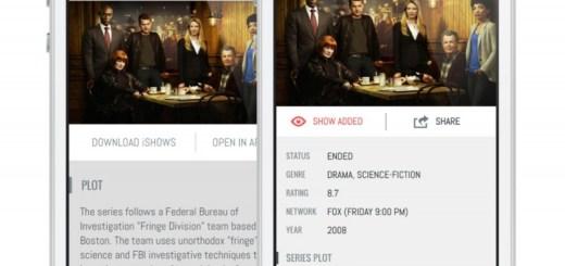 Interfaz iShows