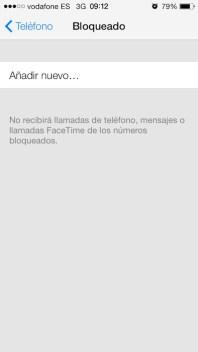 Bloquear iOS 7