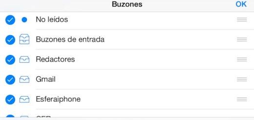 Correo iOS 7 dest