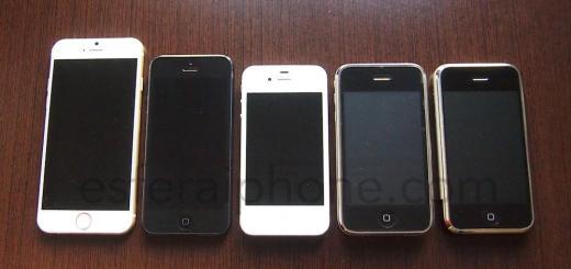 Maqueta iPhone 6 Ei
