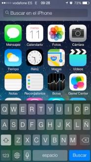 Spotlight iOS 7 1