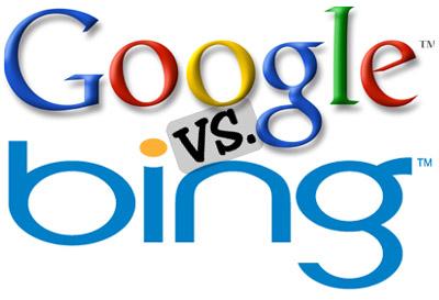google vs bing publicidad online