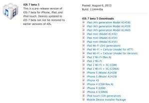 iOS 7 beta 5