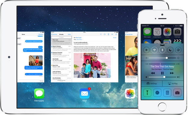 iOS7 iPhone y iPad