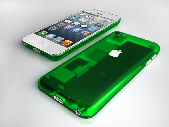 iPhone de plastico colores 3