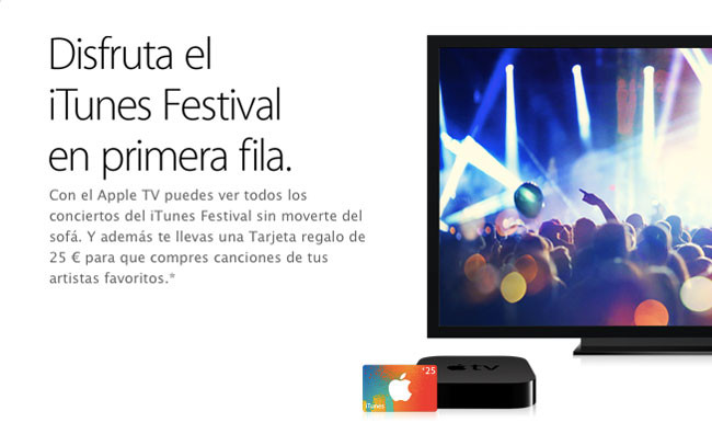 itunes festival apple tv