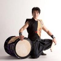 Keita Kanazashi, artista de tambores japoneses