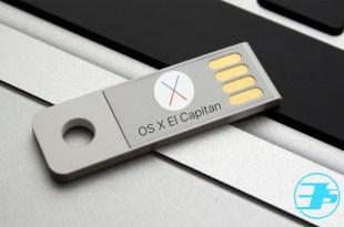 OS X 10.11 El Capitan Bootable USB de Arranque Header