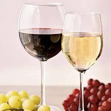 vinho branco e tinto