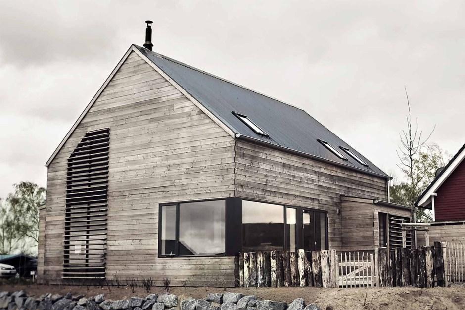 Strandwood House, design épuré en allemagne