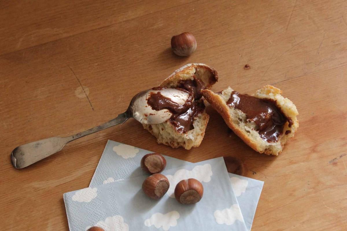 Le nutella maison façon Michalak
