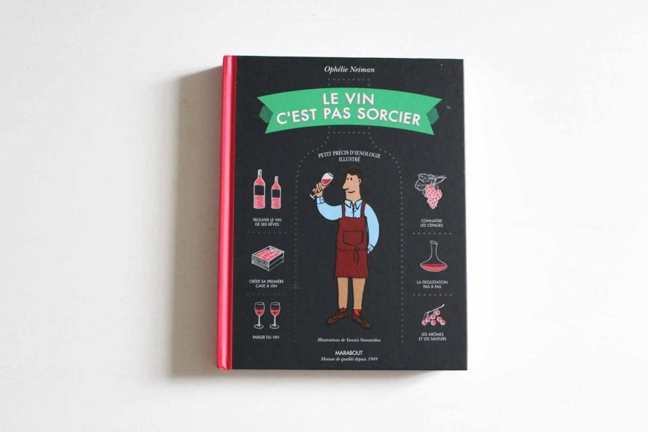L'avis du blog culture Esperluette sur Le vin c'est pas sorcier, Ophélie Neiman