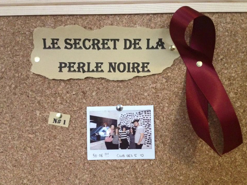 Le secret de la Perle Noire, X Dimension