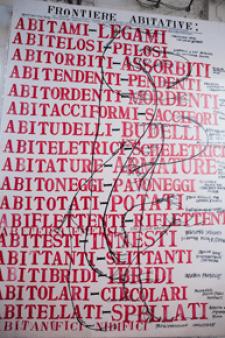"""Immagini della performance """"Changeable identity"""" di Sissi, 23 settembre 2011"""