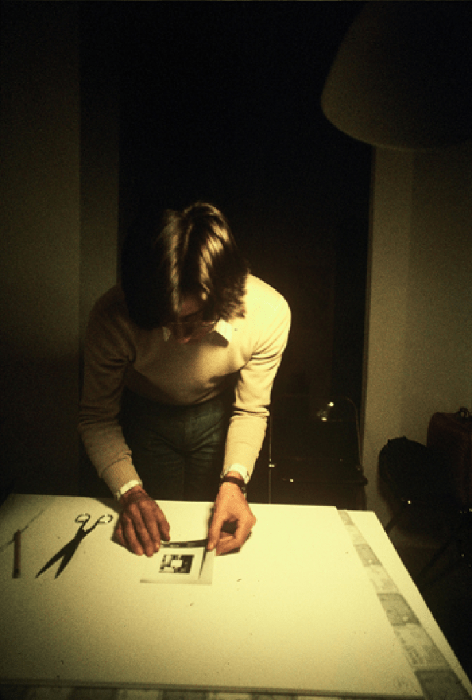 Giulio Paolini, Backstage of Unisono, 1974. Photo: Gianni Melotti. Courtesy: la Biennale di Venezia