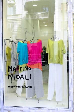 Martino Midali, store Viale Piave, Milano