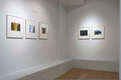 Claudio Olivieri. La gloria dell'invisibile, veduta della mostra, Galleria San Fedele, Milano