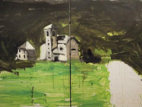 Simone Ferrarini, Paesaggio 2010, 200x250 cm