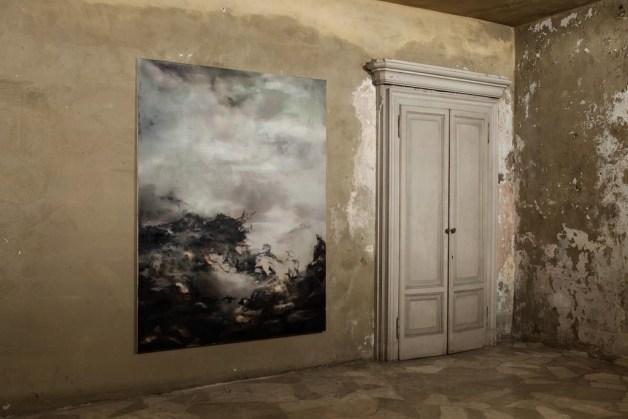 Nazzarena Poli Maramotti, Ohne Titel, 2013, olio su tela, cm 195x160
