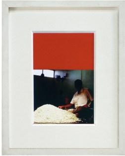 Eva Frapiccini, The Chromatic Inventory, 2013 5 fotografie C-print, penna su carta pantone, cm 30.2x24.3 ciascuna, edizione 1/5 (particolare)
