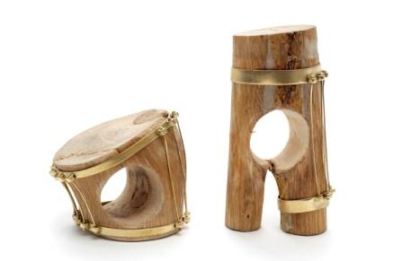 Dania Kelminsky, anelli in legno e ottone