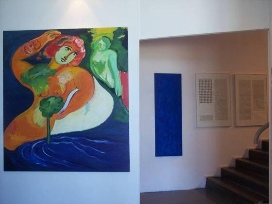 PlusUltra. LVIII Premio Termoli, veduta della mostra, Galleria Civica d'Arte Contemporanea, Termoli (CB)