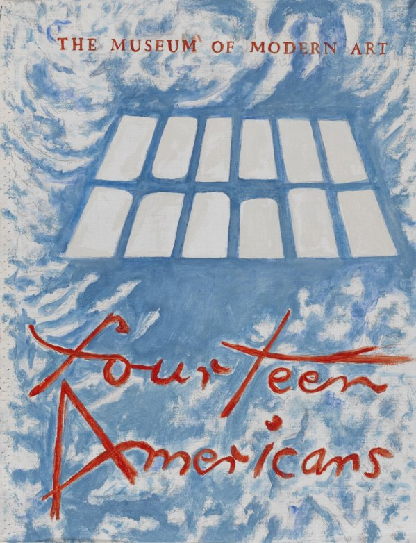 Fourteen Americans, 2003, acrilico su tela, cm 53.5x42, Collection of the Museum of American Art, Berlin Courtesy P420, Bologna e Museum of American Art, Berlin