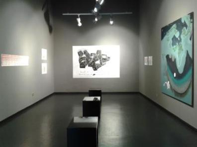 Veduta allestimento Costantini Art Gallery, Milano