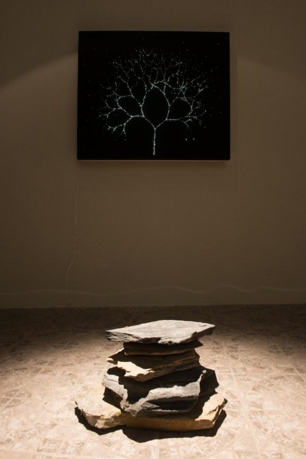 Alessandro Lupi, Ragione e luce veduta installazione