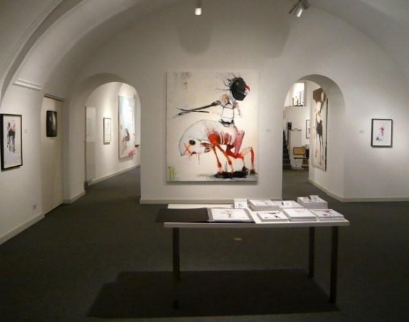 Kinki Texas, 1000 Ponies are not enough, veduta allestimento, courtesy Galleria Goethe, Bolzano