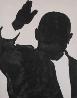 Sergio Lombardo, Nikita Krusciov, 1962, smalto su tela, 230x180 cm