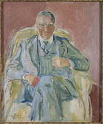 Edvard Munch, Henrik Bull, 1939, olio su tavola, 55x46 cm, Collezione privata © The Munch Museum / The Munch-Ellingsen Group by SIAE 2013