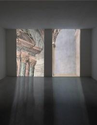 Vincenzo Castella, installazione video, courtesy Studio la Città - Verona, foto Vincenzo Castella