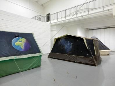 Brian Griffiths, The kidd 2013, Exhibitions view at dispari&dispari projec, photo by Dario Lasagni