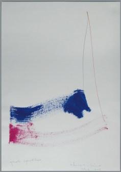 Luciano Fabro, Quale equilibrio, 2004-2005, acrilico, grafite, pennarello su carta, 69.5x49.5 cm, Collezione Luisa Protti, Milano Foto: Annalisa Guidetti e Giovanni Ricci, Milano