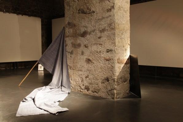 Benjamin Tomasi, Alex, multi part sound and object installation, dimensioni variabili, 2014