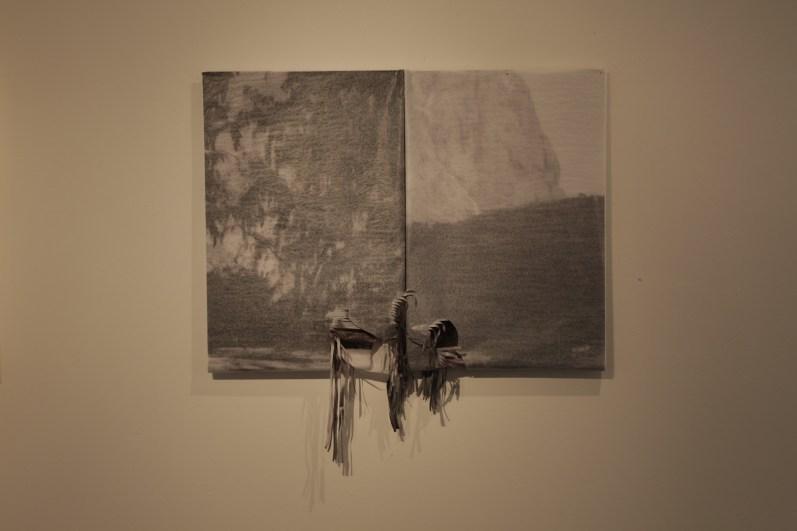 Gianni Moretti, Caro amore mio, stampa digitale su carta velina, dimensioni variabili, 2014